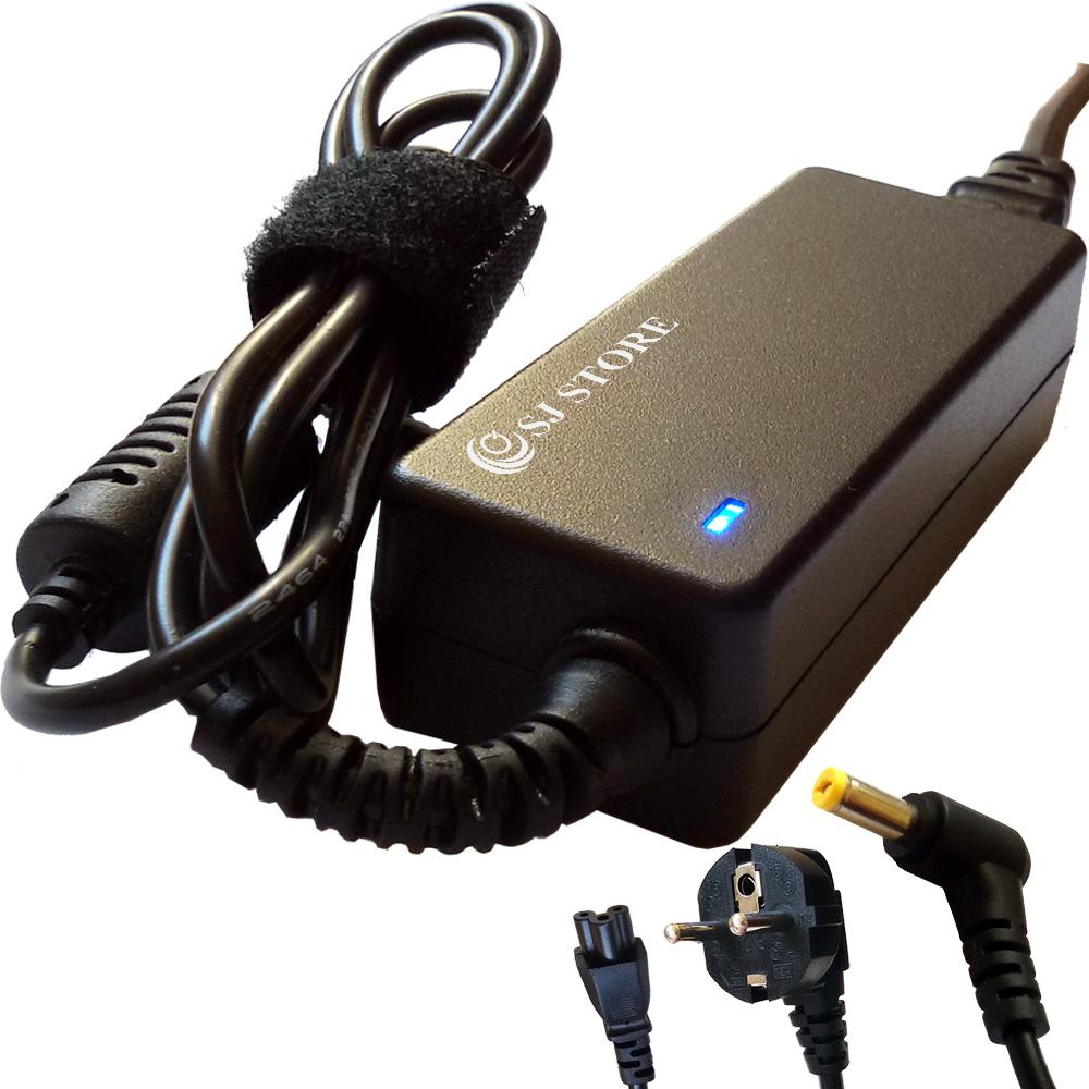 19V 2.1A 40W ALIMENTATION Chargeur Pour ACER Aspire One D150-1044 D150-1197